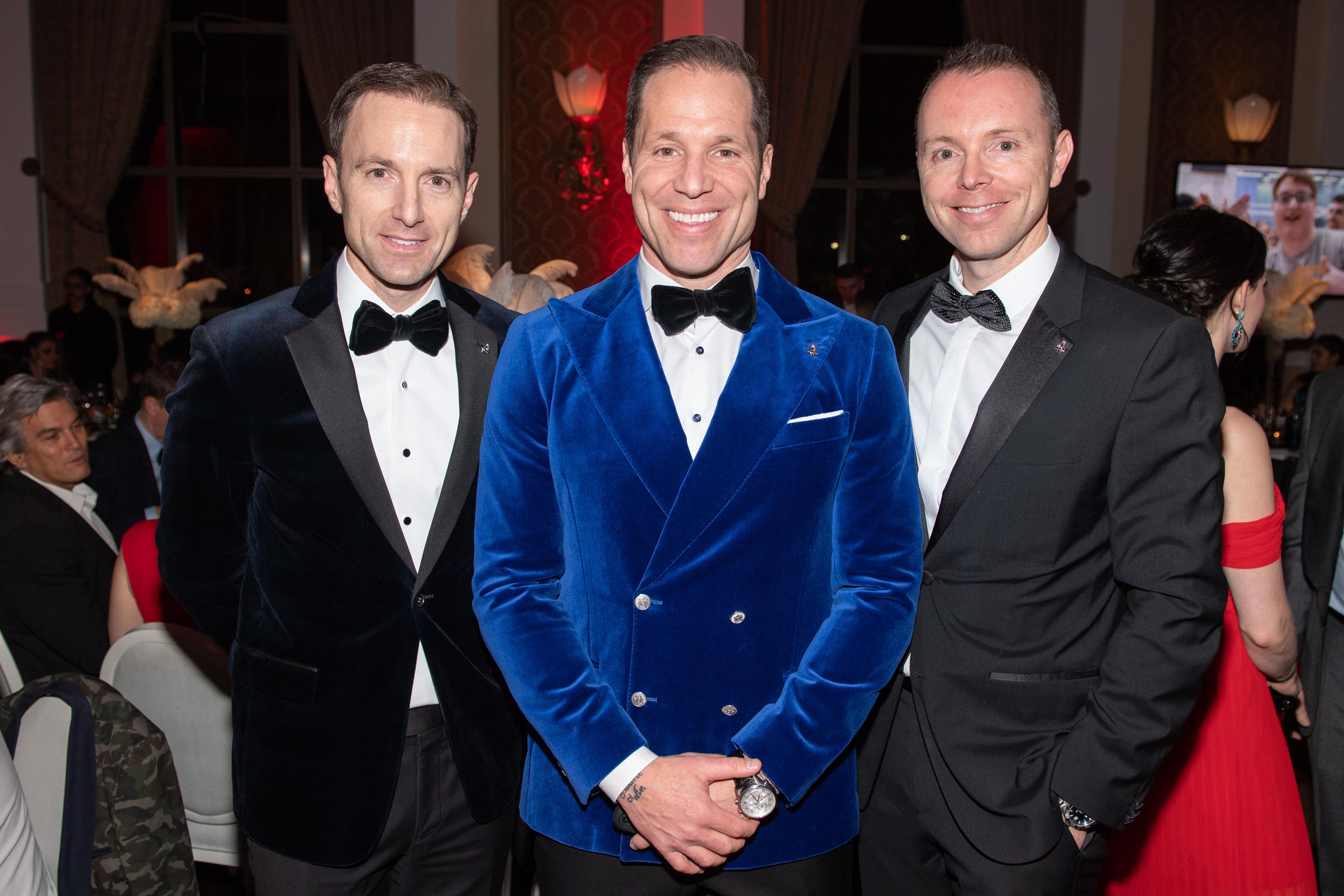 Sean, Paul, Mark Etherington