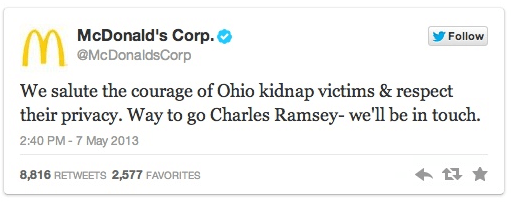 McDonalds Charles Ramsey