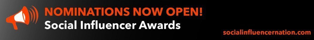 Nominations Now Open - Influencers