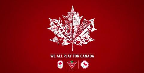 we all play for canada olympic commercial