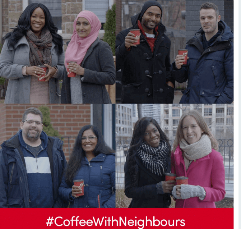 Tim Hortons - #CoffeeWithNeighbours