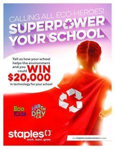 Staples Canada Superpower Contest