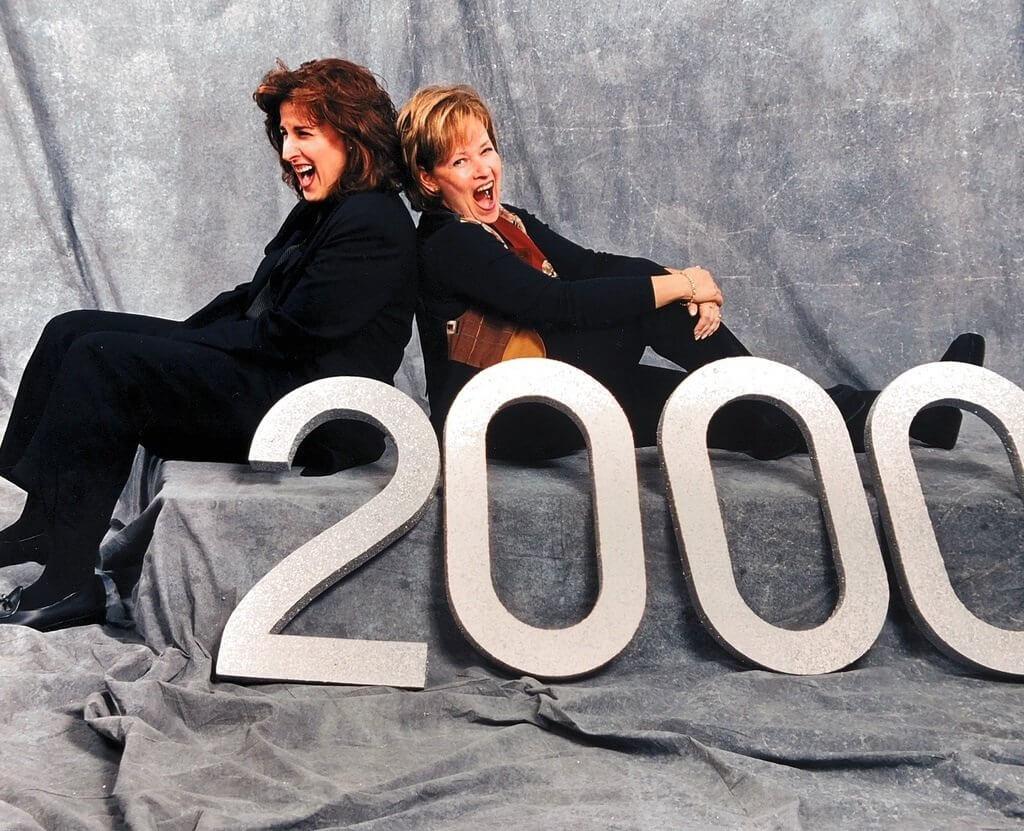 Carol Levine and Esther Buchsbaum